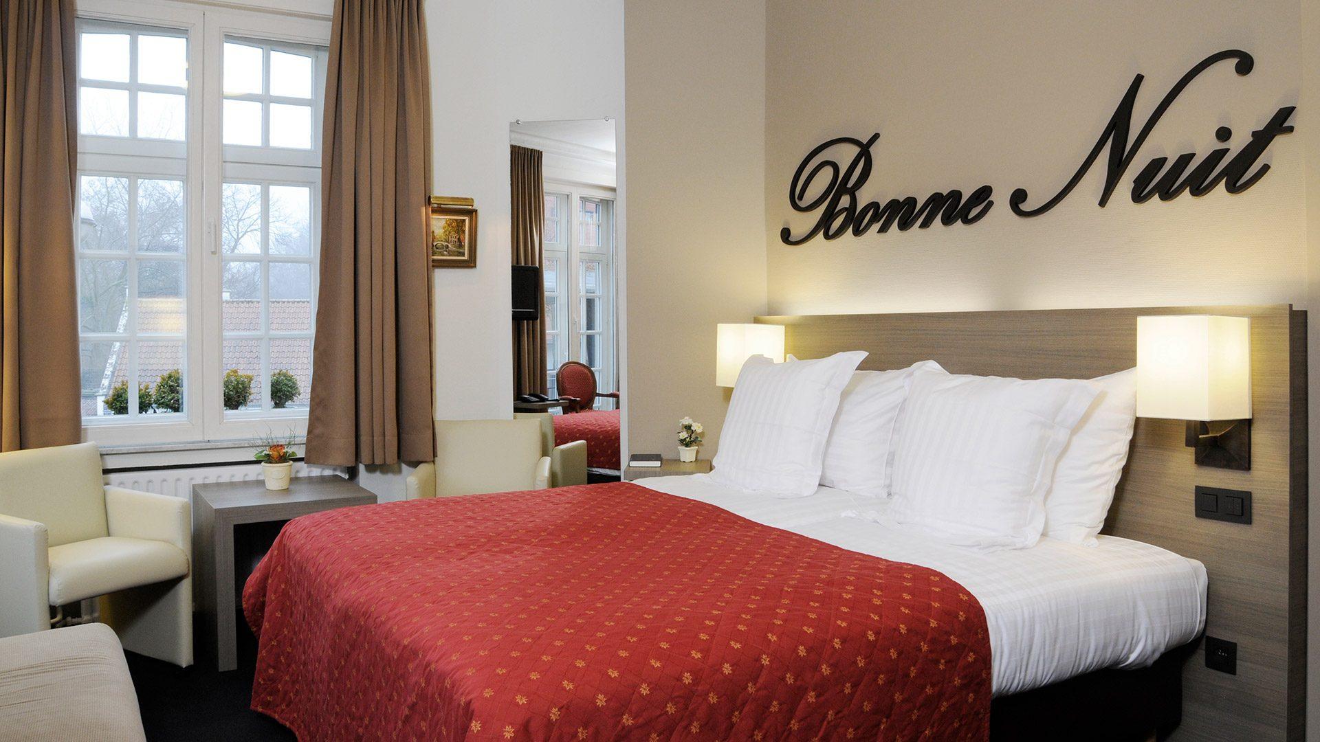 Hotel Albert 1 in Bruges - Hotel Albert 1