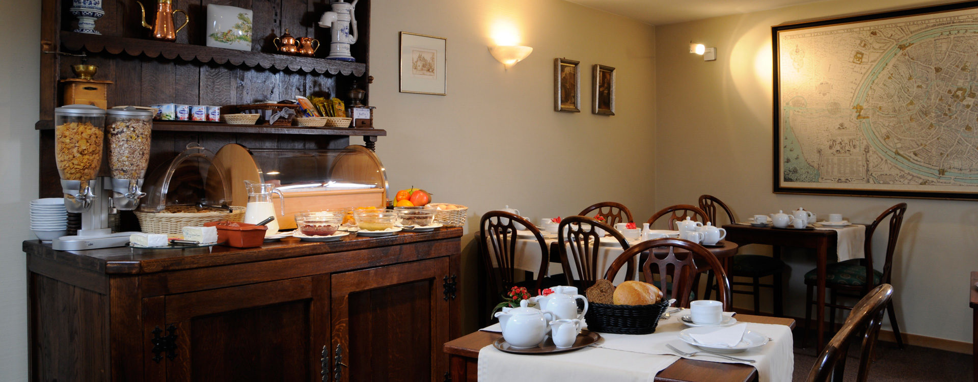Petit-déjeuner - Hotel Albert 1