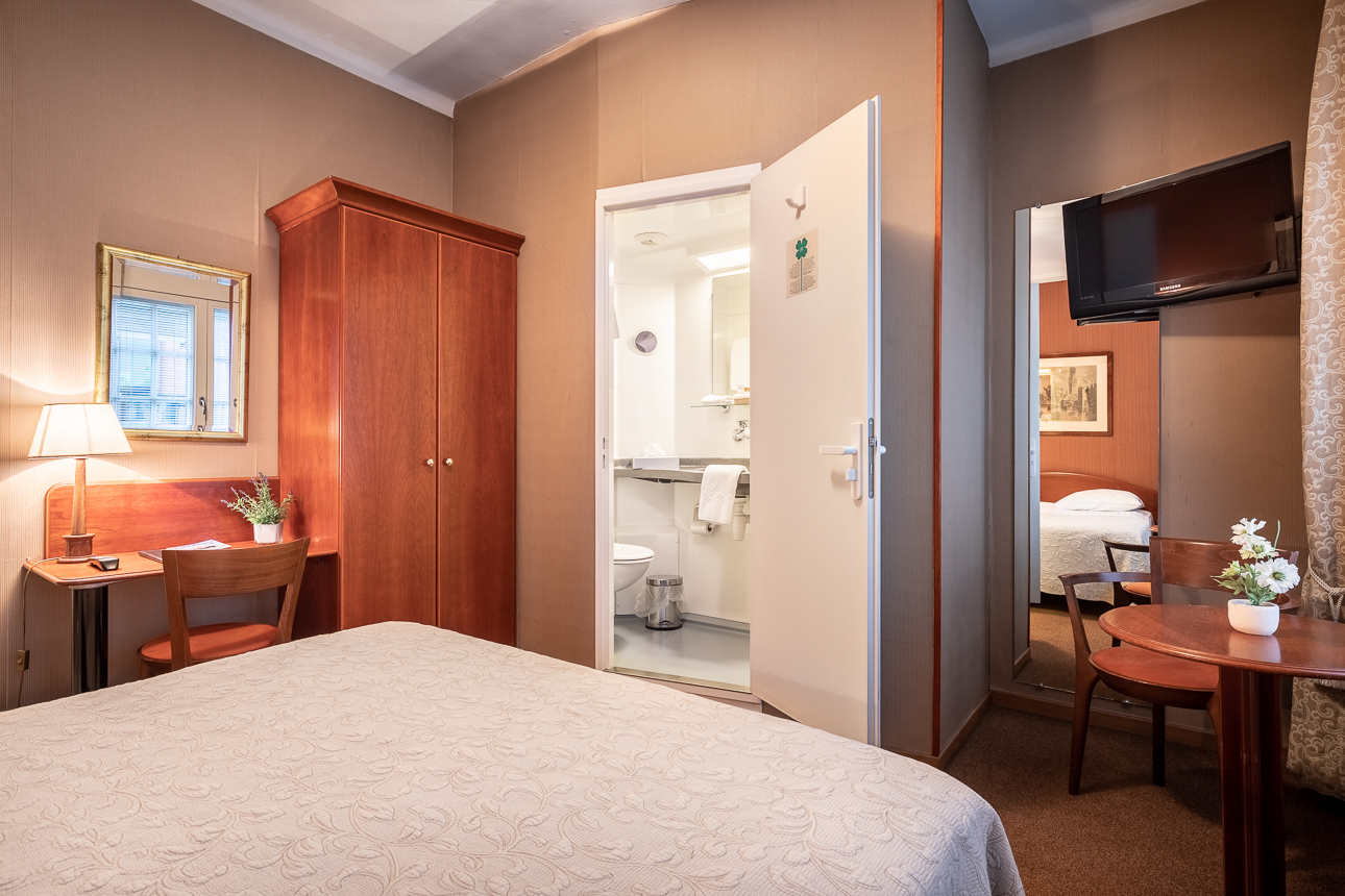 Eenpersoonskamer - Hotel Albert 1